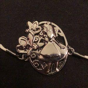 Alice in wonderland adjustable bracelet Disney